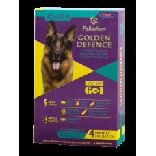 овчарки, Palladium Капли GOLDEN DEFENCE для собак от 20 до 30 кг