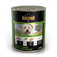 влажный корм для собак, консерва Belcando  Мясо с овощами, супер премиум