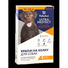 Капли Palladium ULTRA PROTECT на холку для собак от 25 до 40 кг